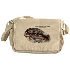 Spotted Salamander Messenger Bag