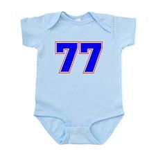 NUMBER 77 Infant Bodysuit