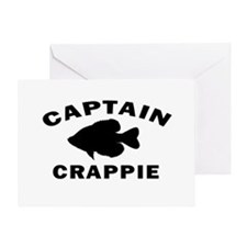 CAPTAIN CRAPPIE Greeting Card