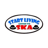 Start Living - Ska Patches