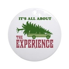 The Experience Ornament (Round)