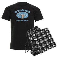 Personalized New Grandpa New Grandson Pajamas