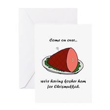 Kosher Ham Greeting Card