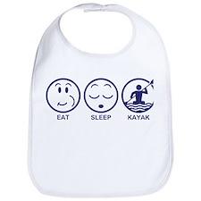 Eat Sleep Kayak Bib