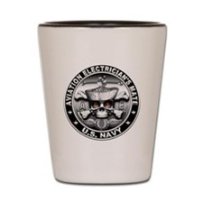 USN Aviation Electricians Mat Shot Glass