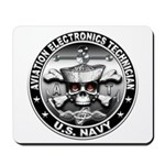 USN Aviation Electronics Tech Mousepad