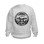 USN Aviation Electronics Tech Kids Sweatshirt