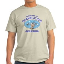 Personalized New Grandfather Grandson T-Shirt