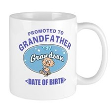 Personalized New Grandfather Grandson Mug