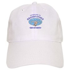 Personalized New Grandfather Grandson Baseball Cap