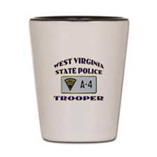 West Virginia State Police Shot Glass