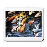 Koi Fish Mousepad