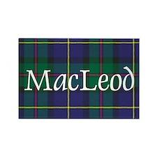 Tartan - MacLeod Rectangle Magnet