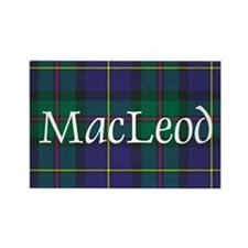 Tartan - MacLeod Rectangle Magnet (100 pack)
