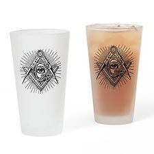 Masonic Eye Drinking Glass