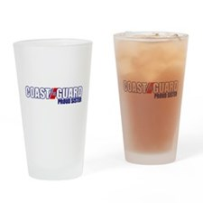 USCG Sister Drinking Glass