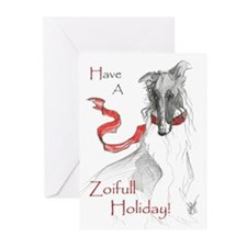 Russian Red Holiday Cards 20PK