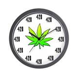 Always 420 Wall Clock