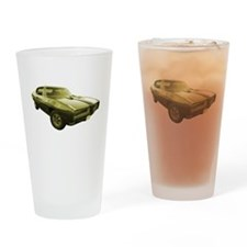 1968 Pontiac GTO Muscle Car Drinking Glass