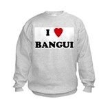 I Love Bangui Sweatshirt