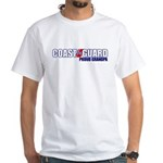 USCG Grandpa White T-Shirt