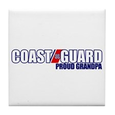 USCG Grandpa Tile Coaster