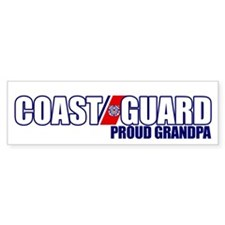 USCG Grandpa Bumper Sticker