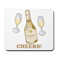 Cheers Champagne Mousepad