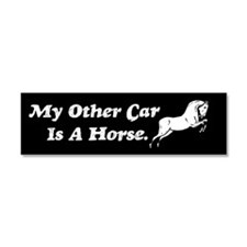 My Other Car Is A Horse Car Magnet 10 x 3