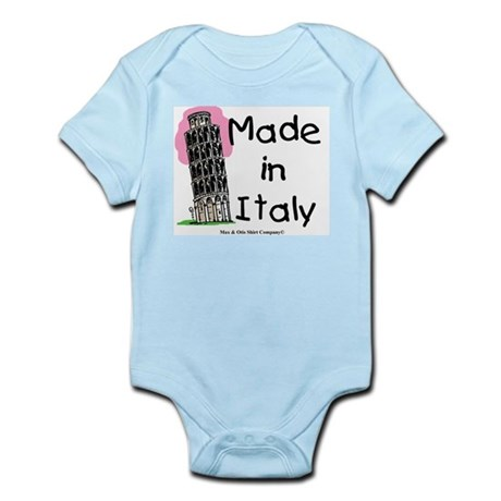 Made in Italy - Pisa Infant Bodysuit