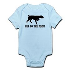 GET TO THE POINT Infant Bodysuit