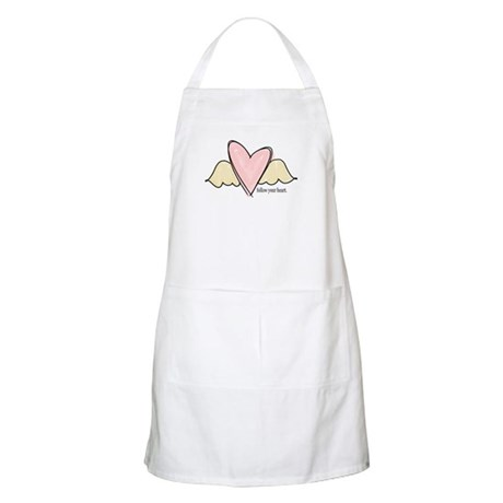 follow your heart BBQ Apron
