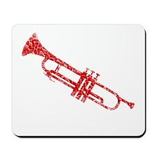 Worn, Trumpet Mousepad