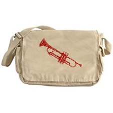 Worn, Trumpet Messenger Bag