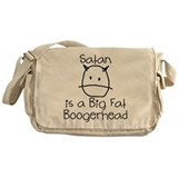 Satan is a Boogerhead Messenger Bag