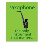 Saxophone Musical Gift Small Poster
