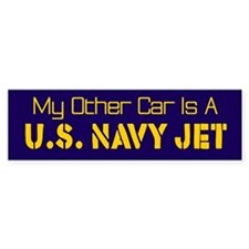 My Other Car Is A U.S. Navy Jet