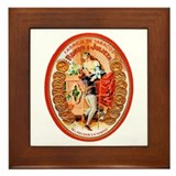 Romeo &amp; Juliet Cigar Label Framed Tile
