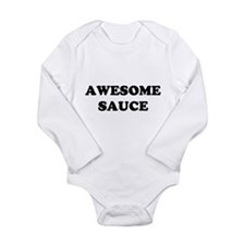 Awesome Sauce Long Sleeve Infant Bodysuit