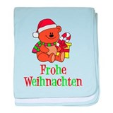 German Christmas Baby baby blanket