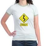 An Arrow Jr. Ringer T-Shirt