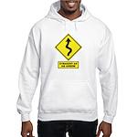 An Arrow Hooded Sweatshirt