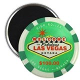 Las Vegas Sign Logo Magnet
