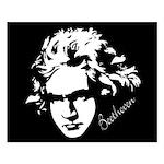 Ludwig Van Beethoven Music Poster