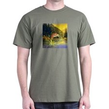 Rainbow Trout Jumping T-Shirt