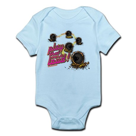Play That Music Loud Infant Bodysuit
