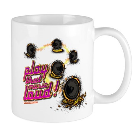 Play That Music Loud Mug