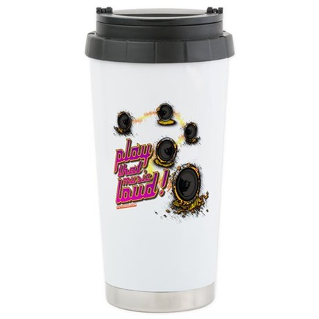 Play That Music Loud Ceramic Travel Mug