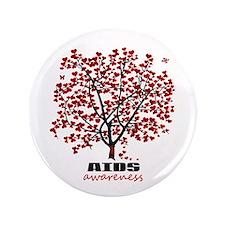 """AIDS Awareness 3.5"""" Button"""