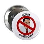 Indiana Against Mitt Romney button